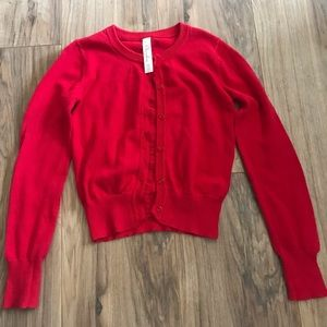 Other - EUC Cherokee Red cardigan